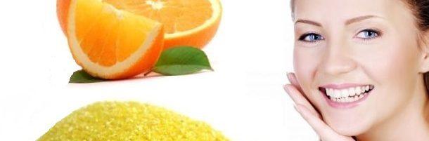 Gommage à l'orange