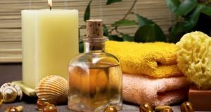 les huiles de bain