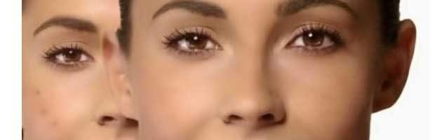 Conseils de maquillage pour camoufler les boutons , la couperose