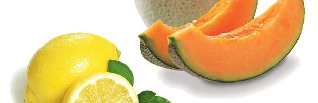 Lotion visage au melon et au citron
