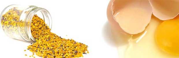Masque visage au pollen pour peau mature