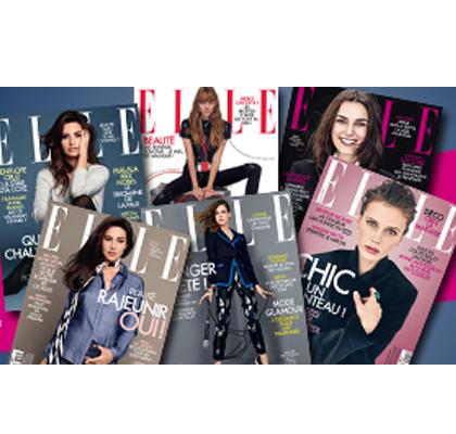 Recevez 9 numéros du magazine ELLE