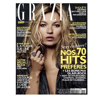 Recevez 13 numéros de Grazia