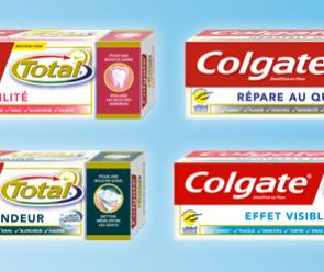 Gagnez 1 an de produits Colgate Total.