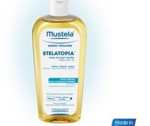 Testez gratuitement l'huile de bain lactée de Mustela