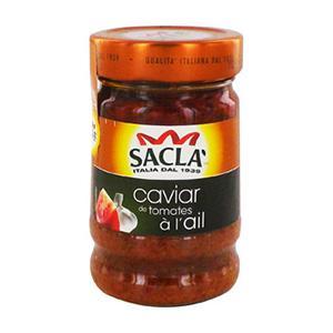 Sauce caviar de tomates à l'ail de Saclà