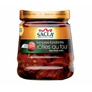 Tomates fondantes rôties au four de Saclà