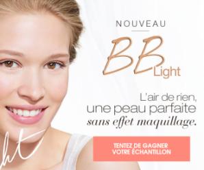 Recevez gratuitement un échantillon de BB Light de Garnier