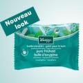 Testez gratuitement le galet de bain effervescent Kneipp