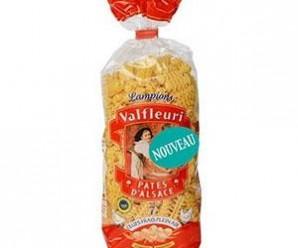 Testez gratuitement les pâtes Lampions de Valfleuri