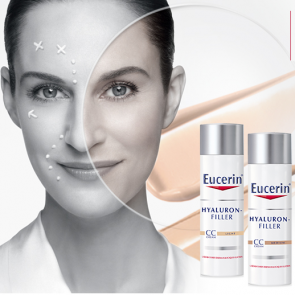 Soins Eucerin Hyaluron-Filler CC Cream