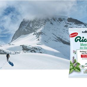 bonbons Ricola Menthe des Glaciers