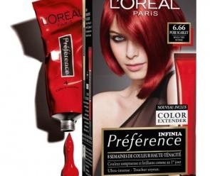 Testez gratuitement le kit de coloration Infinia de l'Oréal
