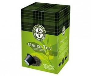 Testez gratuitement les capsules de Thé vert de la marque Brodies