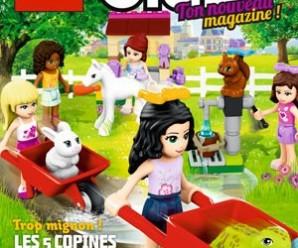 Recevez gratuitement le magazine Lego