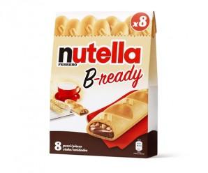 Recevez gratuitement un échantillon de Nutella B-Ready