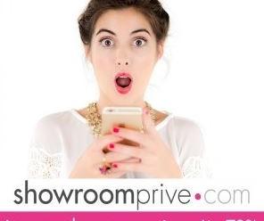 Recevez 10 euros en bon d'achat sur Showroom Privé
