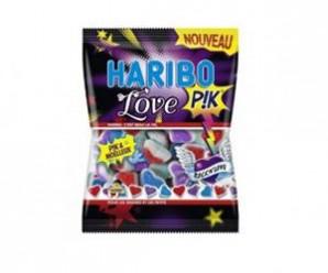 Testez gratuitement les bonbons Love pik de Haribo