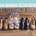Testez gratuitement trois paires de chaussures San Marina
