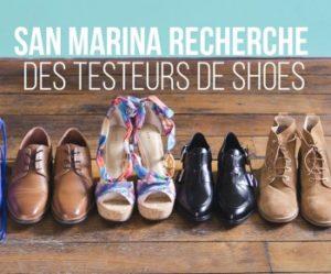 trois paires de chaussures San Marina