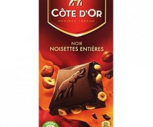Testez gratuitement le chocolat noir Côte d'Or