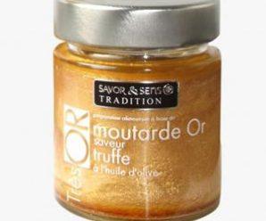 Testez gratuitement la moutarde or saveur truffes blanches