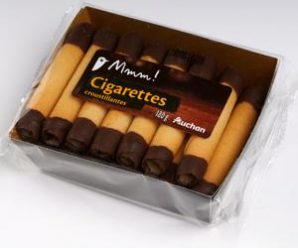 Testez gratuitement les cigarettes au chocolat croustillantes