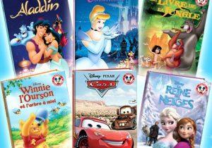 6 livres Disney