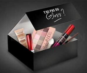 Recevez gratuitement la Box beauté Maybelline