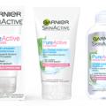 Recevez gratuitement un échantillon Pure Active Sensitive Garnier