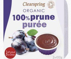 Testez gratuitement la purée de fruits à la prune Clearsping