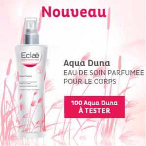 l'eau parfumée Aqua Duna de Eclaé