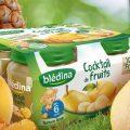 Testez gratuitement les petits pots banane et cocktail de fruits Bledina