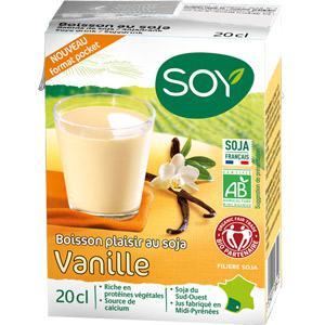 boisson soja vanille