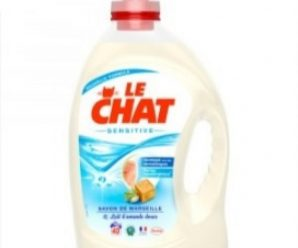 Testez gratuitement la lessive Le Chat Sensitive