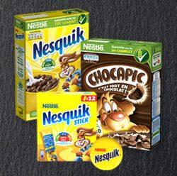 Testez gratuitement les céréales Nestlé