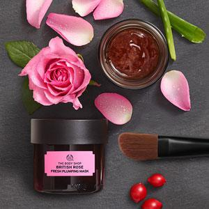 masque frais repulpant à la rose d'Angleterre The Body Shop