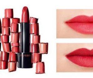 Recevez gratuitement un échantillon du rouge à lèvres Shiseido