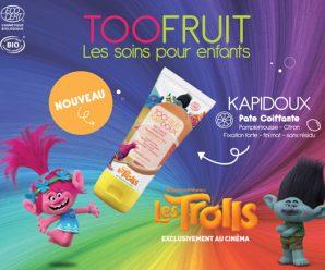 Testez gratuitement le KAPIDOUX PATE COIFFANTE au parfum frais d'agrumes
