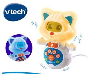 Testez gratuitement l'horloge LumiKitty de Vtech