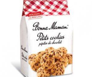 Testez gratuitement les cookies aux pépites de chocolat Bonne Maman