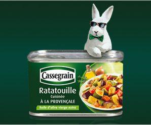 Testez gratuitement la ratatouille cuisinée à la Provençale Cassegrain