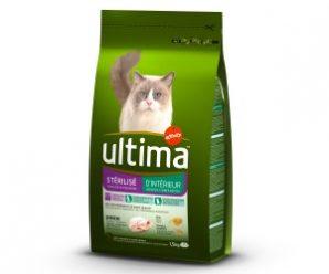 Testez gratuitement les croquettes pour chat d'intérieur Ultima