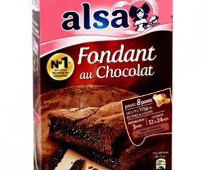 Testez gratuitement la préparation Alsa du fondant au chocolat
