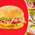 Testez gratuitement le sandwich rond Daunat