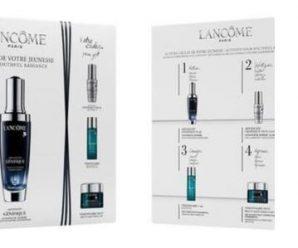 Recevez gratuitement un échantillon de trois soins Lancôme