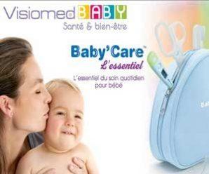 Testez gratuitement la trousse essentiel pour bébé Visiomed