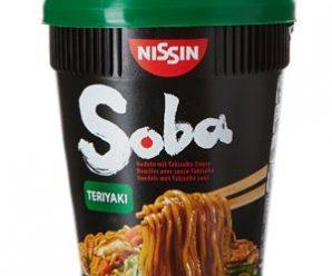 Testez gratuitement les nouilles instantanées Soba Teriyaki
