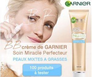 Testez gratuitement la BB crème de Garnier
