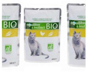 Testez gratuitement les croquettes bio pour chats